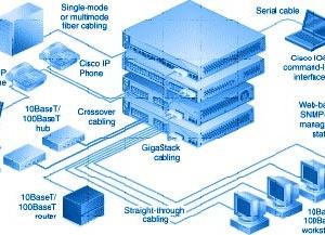 Netzwerk Technik ( Netzwerkkabel, Switche, Router, Accesspoints, IP-Kameras uvm.)