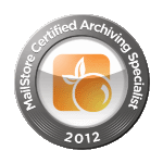 Mailstore Certified Archiving Specialist